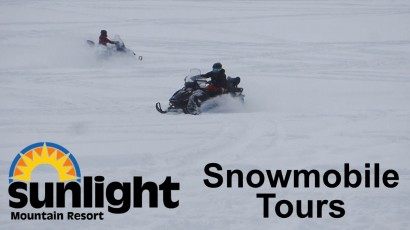 Full Throttle Snowmobiling – Sunlight Mountain Resort
