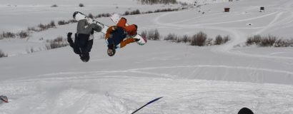 Backcountry Freestyle Snowboarding